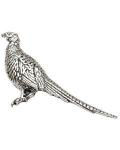 Pheasant Pewter Brooch