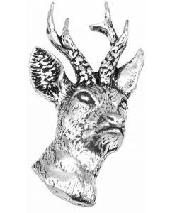 Roe Deer Pewter Brooch
