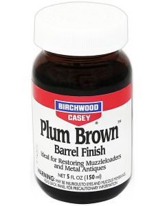 Birchwood Casey Plum Brown Barrel Finish (150ml Bottle)