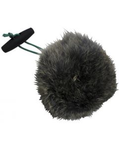 Rabbit Fur Ball With Toggle
