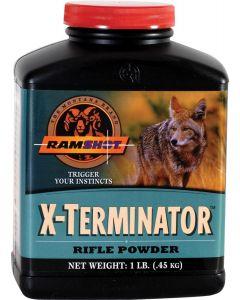 Ramshot X-Terminator Rifle Reloading Powder 1lb
