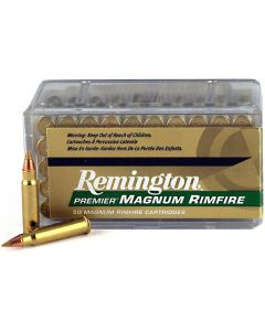 Remington AccuTip-V .17HMR Polymer-Tipped 17gr (50 Rounds)