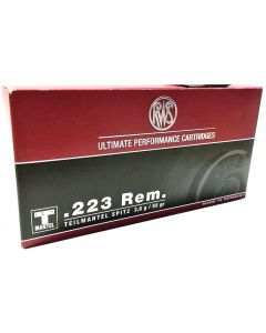 RWS .223 T-Mantel 55gr Soft Point (20 Rounds)