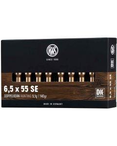 RWS Doppelkern Twin Core 6.5x55 140gr (20 Rounds)