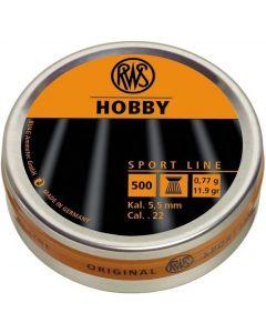 RWS Hobby .22 Pellets (500 Pellets)