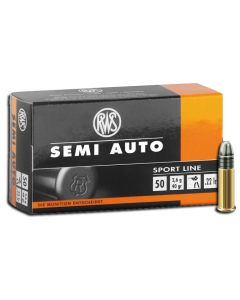 RWS .22lr Semi Auto Solid 40gr (50 Rounds)