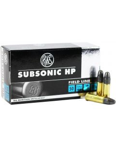 RWS .22LR Subsonic Hollow Point 40gr (50 Rounds)