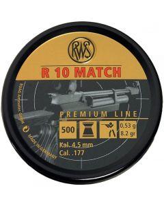 RWS R10 Match Pellets .177 (500 Pellets)