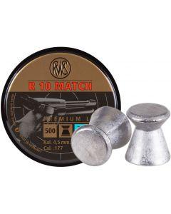 RWS R10 Match Pistol Pellets .177 (500 Pellets)