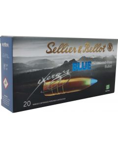 Sellier & Bellot eXergy Blue .308 165gr TXRG Lead Free (20 Rounds)