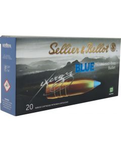 Sellier & Bellot eXergy Blue .308 110gr TXRG Lead Free (20 Rounds)