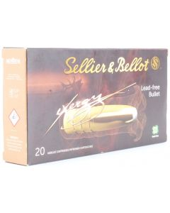 Sellier & Bellot eXergy .270 Winchester 130gr Lead Free (20 Rounds)