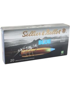 Sellier & Bellot eXergy Blue 6.5 Creedmoor 120gr TXRG Lead Free (20 Rounds)