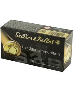 Sellier & Bellot .357 Magnum 158gr FMJ (50 Rounds)