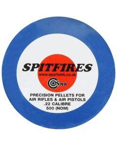 SMK Spitfire Pointed .22 Pellets (500 Pellets)