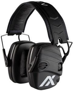 SportEar Trackr Electronic Ear Defenders Black
