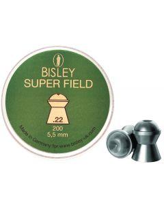 Bisley Super Field .22 Pellets (200 Pellets)