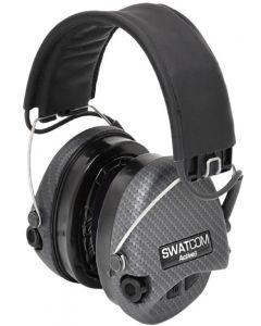Swatcom Active8 Military Grade Headset Carbon Fibre