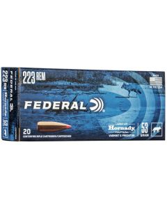 Federal .223 Remington Hornady V-Max 53gr (20 Rounds)