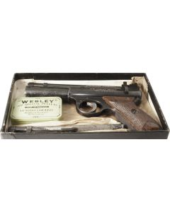 Pre-Owned Webley Senior .22 & .177 Boxed
