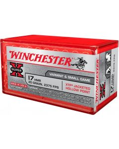 Winchester .17HMR XTP Jacketed Hollow Point 20g (50 Rounds)