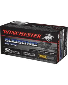 Winchester .22lr Subsonic 42gr (50 Rounds)