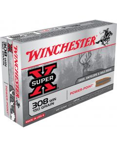 Winchester .308 Power Point 150gr (20 Rounds)