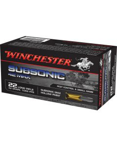 Winchester 22lr Subsonic 42gr (500 Rounds)
