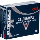 CCI AR Tactical .22LR Copper-Plated Round Nose 40gr (300 Rounds)