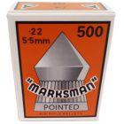 Marksman .22 Pointed Pellets (500 Pellets)